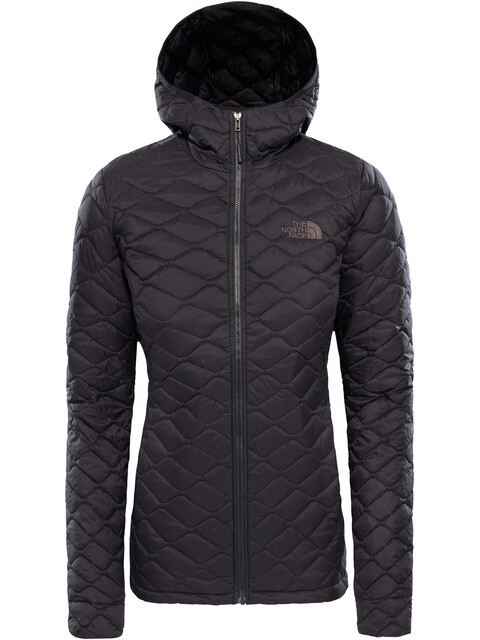 The North Face Thermoball Pro Hoodie Jacket Women TNF Black Matte
